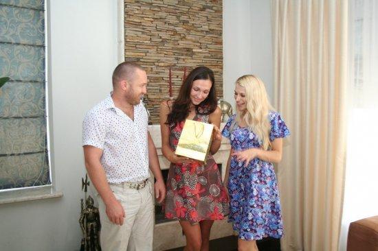 Награждение победителя конкурса Мисс Лето 2013